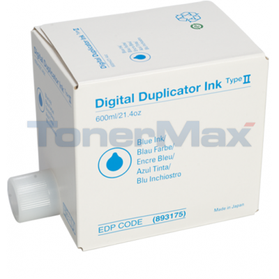 RICOH PRIPORT JP1010 TYPE II INK BLUE